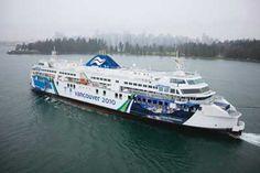 "BC Ferry the ""Coastal Renaissance""  2007 Built.  1,600 passengers.  370 vehicles and 32 semi trucks."