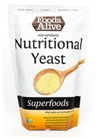 Foods Alive Nutritional Yeast Non-Synthetic -- 6 oz Gourmet Recipes, Vegan Recipes, Bakers Yeast, Cheese Powder, Sources Of Dietary Fiber, Plant Based Protein, Dark Chocolate Chips, Nutritional Yeast, Vegan Cheese