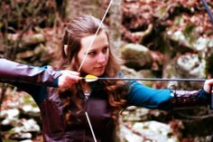 Adventures of An Elven Princess: Tauriel Cosplay - The Photoshoot (It's hard to tell, but yes, I am wearing Tauriel's necklace! :D)