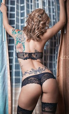 Tookinis - Tattoos + Bikinis is the Hottest New Trend Going Around - Likes