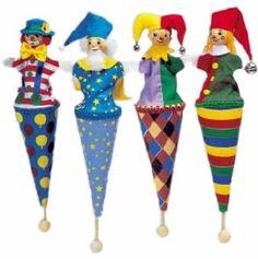 Clown Cone Puppet