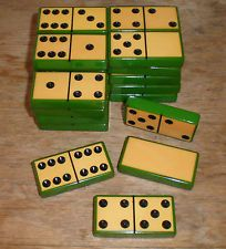 Vintage Bakelite Domino Set