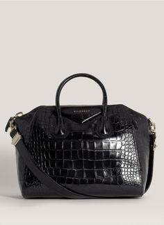 c83e2c1b8511 Givenchy Croc Embossed Antigona Bag Givenchy Antigona