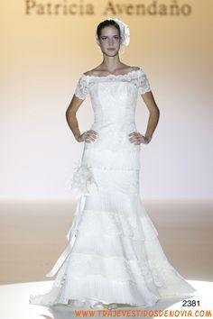 2381  Vestido de Novia  Patricia Avendao