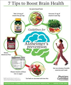 PCRM | International Researchers Identify Seven Dietary and Lifestyle Guidelines for Alzheimer's Prevention