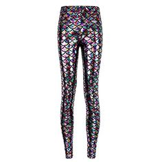 c3d0769e Cheap fish scale leggings, Buy Quality scale leggings directly from China  mermaid pants Suppliers: Hot Sale Women Sexy Party Wearing Fish Scale  Leggings ...