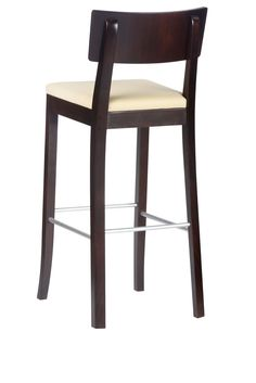 Modern, wooden, comfortable. Bar stool. #KloseFurniture #RestaurantFurniture #barstool