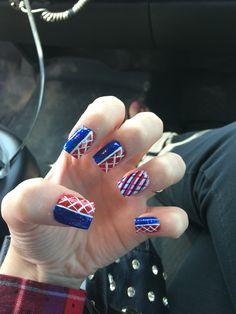 #nails #memorialday #redwhiteandblue #fourthofjuly