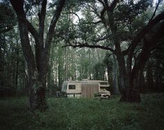 The Stalled Caravan (near Lafayette, LA, 2013) by Anna Beeke - A Photographer's Forest Tale - NYTimes.com