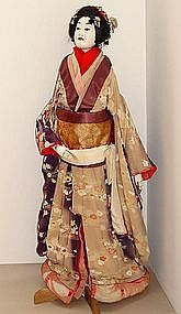 Bunraku Theater | lovely bunraku theater puppet of the female character osome