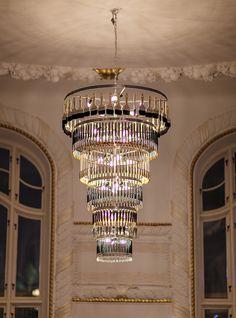 Custom made chandelier at restaurant Palace, Gothenburg Sweden ©Oscar Matsson