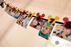 Etsy listing at https://www.etsy.com/listing/163462992/mickey-mouse-newborn-banner-mickey-mouse