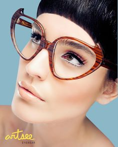 Artsee Eyewear Advertising Campaign   The hair cut is cool too ! People love this pin - keep pinning & enjoy Aynai Sy