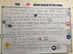 English Sentences, Year 6, New Class, Classroom Design, Teaching Writing, Writing Ideas, Literacy, Education, Feelings