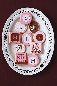cricut cake -images cookies for a bridal shower like THIS