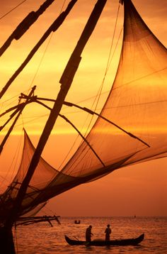 Fishing Nets - Kochi - India..I've seen them in person..they are beautiful