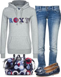 going to the movies outfit, but with blue chucks-throw those boat shoes in the ocean. <3 the coach back!