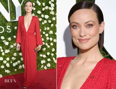 Olivia Wilde In Michael Kors - 2017 Tony Awards - Red Carpet Fashion Awards