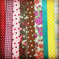 Estampas para fitas que mudam qualquer decoração ;) #fitas #artesanato #decoração
