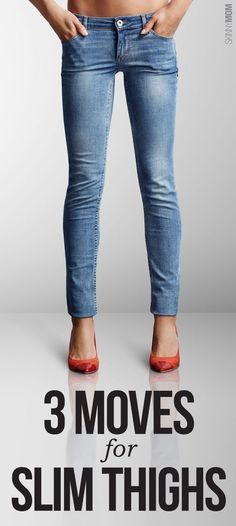 Yay skinny jeans! Try these 3 slimming moves.