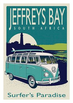 Jeffreys Bay South Africa Combi Surf
