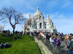 Paris Barcelona Cathedral, Taj Mahal, Paris, Building, Travel, Places, Voyage, Montmartre Paris, Buildings