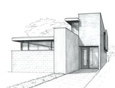 17+ Incredible Architectural House Drawing  (get more ideas on the website)