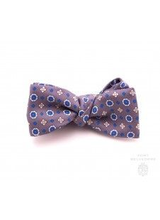 15fd11dd28a5 Silk Bow Tie in Yellow Jacquard Micropattern - Fort Belvedere | Bow Ties |  Pinterest