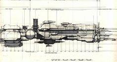 Syd Mead Futurism Sulaco Redesign Schematic