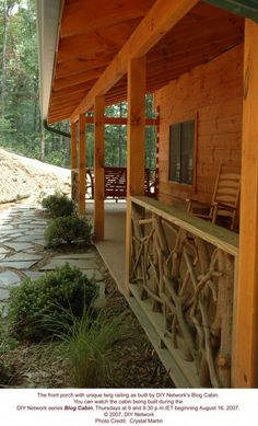 Mid South Log Homes Log Home Pictures - Log and Timber Frame Photos
