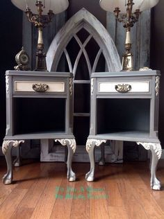 trash to treasure, painted furniture, Fit For A Queen