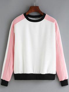 Color-block+Round+Neck+Sweatshirt+12.67