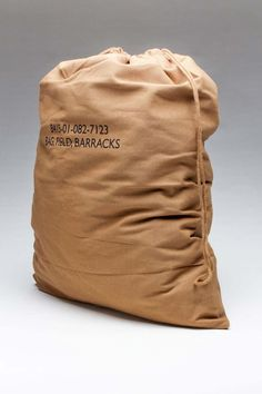 g.i. type brown barracks bag -rothco
