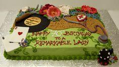 gardening sheet cake - Google Search Gardening, Google Search, Cake, Desserts, Food, Products, Cake Ideas, Tailgate Desserts, Deserts