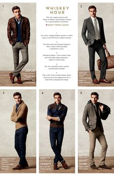 Banana Republic- my absolute favorite for men....fulfills my 'sexy professor'-look requirement!