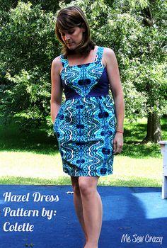 Colette Hazel by Me Sew Crazy 2 by mesewcrazy, via Flickr