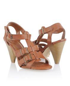 Buckled Cone Heels - StyleSays
