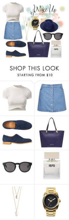 Another Day by hannahjerao on Polyvore featuring Topshop, Toast, Marc by Marc Jacobs, Nixon, With Love From CA, Whistles, Monki and Bella Freud