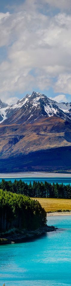 Lake Pukaki, Otago, South Island, New Zealand