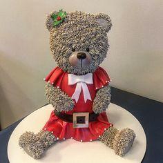 Bolo Ursinha de Natal !