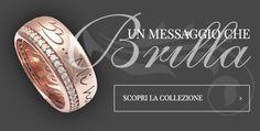 Fai una dedica con un anello personalizzato by BLOOBLOOD Milano Design italiano e zirconi SWAROVSKI