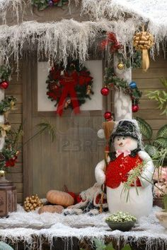 146 Best Outdoor Christmas Decorations Images On Pinterest