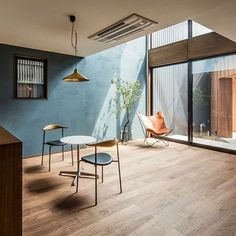 The wall colour❤️ My Living Room, Home And Living, Living Spaces, Simple Modern Interior, Interior Architecture, Interior Design, Home And Deco, Home Fashion, Interior Inspiration