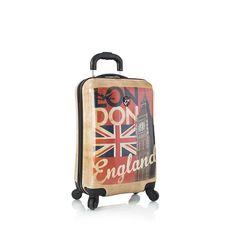 """Vintage Traveler 21"""" Spinner - London"""