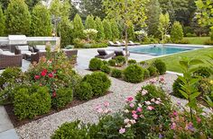 For over 20 years, a Blade of Grass has earned a reputation for lending a fresh perspective to landscape design. Backyard Pool Designs, Backyard Landscaping, Pool Backyard, Pool Fence, Landscaping Ideas, Backyard Ideas, Pool Landscape Design, Garden Design, House Landscape