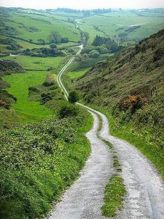 Down the Road in Ireland