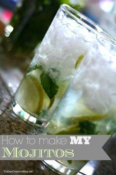 how to make a mojito | TodaysCreativeBlog.net