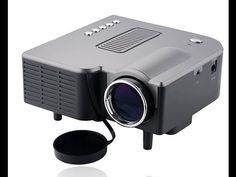 "New UC28 PRO HDMI Mini HD Home LED Projector 60"" Cinema Theater, PC Laptop VGA Input USB"