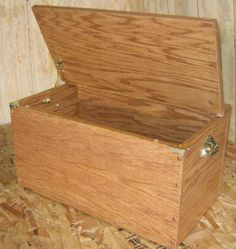 plans to make a wooden toy box