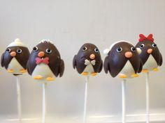 #Pinguin #Cake Pops